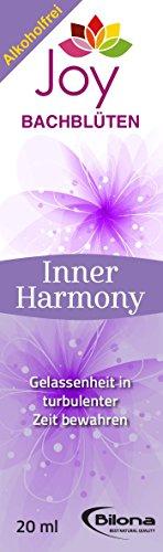 Innere Harmonie – Bachblüten Komplexmittel, alkoholfrei, 20 ml Stockbottle