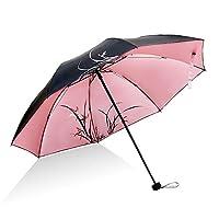 DAIFUQIANG Umbrella Ladies Sun Umbrella Rain And Rain Dual-Use Umbrella Women