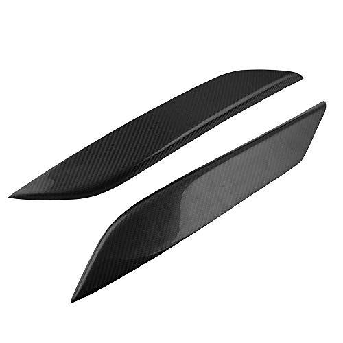 Docooler Scheinwerfer-Augenlid-Augenlider decken tragbare Carbon-Scheinwerferabdeckung für 350Z 2003-2009 ab (Carbon 350z)