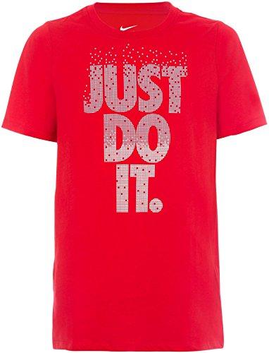 Nike JDI Pixel YTH CTN Crew T-Shirt pour Enfant