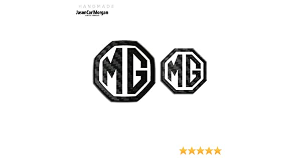 MG ZT Car Year Wheel Centre Caps Badge Inserts Black Carbon Silver 45mm Badges