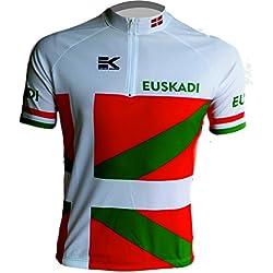 MAILLOT EKEKO EUSKADI VINTAGE, maillot corte clasico/retro (XS)