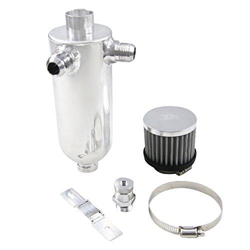 primecooling doppia aspirazione olio cattura serbatoio può 750ml + Breather e rubinetto di