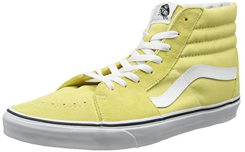 Vans Unisex-Erwachsene Sk8-Hi Laufschuhe, Gelb (Dusky Citron/True White), 40.5 EU (Citron Schuhe)