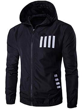 [Patrocinado]Ropa de abrigo para hombre, RETUROM Moda caliente otoño otoño invierno con capucha de impresión informal chaqueta...
