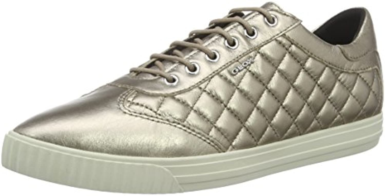 Geox Damen D Amalthia D Sneakers 2018 Letztes Modell  Mode Schuhe Billig Online-Verkauf