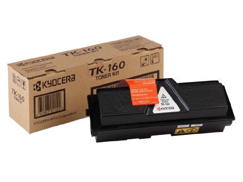 Kyocera TK-160 Original Toner-Kartusche Schwarz 1T02LY0NLC. Kompatibel für ECOSYS P2035d, FS-1120D. 2.500 Seiten -