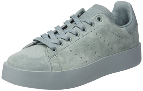 adidas Women's Stan Smith Bold Sneaker Low Neck, Beige