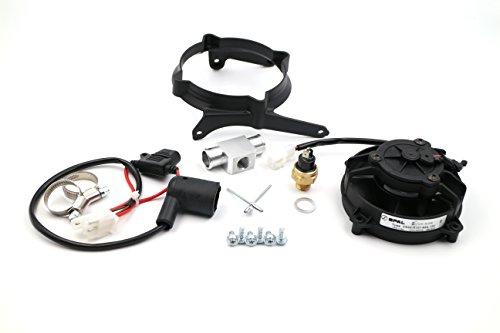 KTM, HUSQVARNA Original SPAL 2 TAKT Ventilator, Lüfter, Axiallüfter ab Baujahr 2016 Modell 2017 Komplett Set