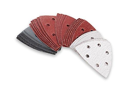 Schleifpapier Dreieckig 30und für Makita Bandschleifer Typ Delta Parkside BOSCH Skil Metabo selbstklebender Holz Stein Farbe