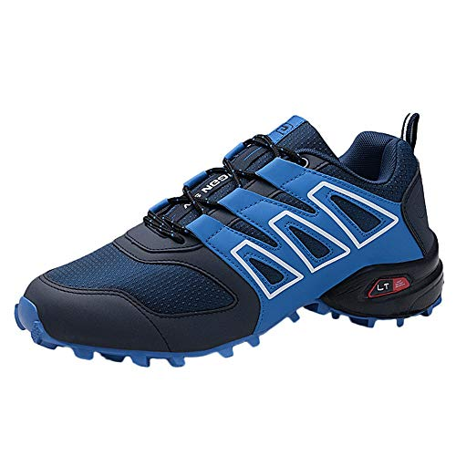 Lanskrlsp scarpe uomo scarpe da corsa da uomo scarpe da trekking scarpe da ginnastica atletiche scarpe sportive da trekking all'aperto sneakers uomo