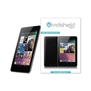 VividShield Asus Google Nexus 7 (2012) HD Clear Screen Protector - 3 Pack Screen Guard / Screen Shield / Screen Overlay (Displayschutzfolie, Protecteurs D'écran, Pellicola Protettiva)