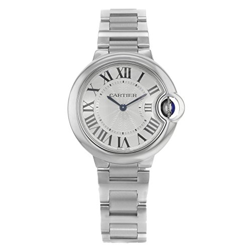 Cartier Ballon Bleu - Reloj (Reloj de pulsera, Femenino, Acero inoxidable, Acero inoxidable, Acero inoxidable, Acero inoxidable)