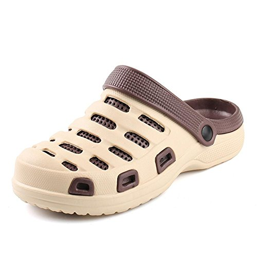 Kemosen Hombres Zapatillas de Jardín EVA Unisex Pareja Sandalias Ultra-Ligeras Zapatos Playa para Mujer Chanclas