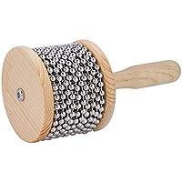 Dilwe Cabasa Percusión, Madera Beat Instrumento para Niños Estudiante