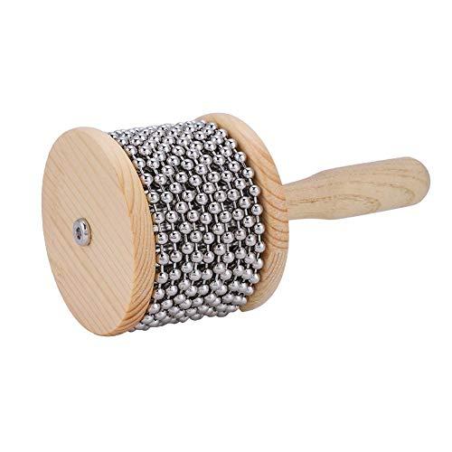 Vbestlife Kinder Cabasa Holz Cabasa Shaker Musikinstrument für Kinder Student