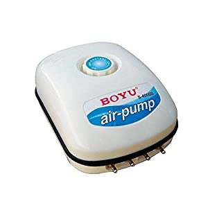 Boyu S-4000B Adjustable Air Pump for Fish Tanks and Aquariums