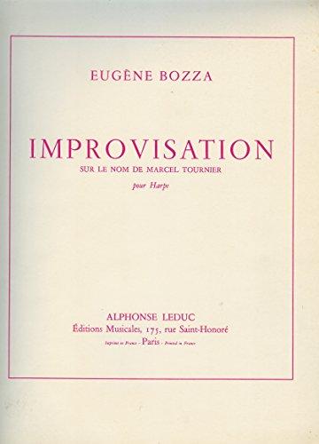 Eugne Bozza: Improvisation Sur le Nom de Marcel Tournier (Harp Solo)