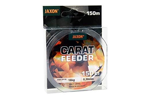 Jaxon Angelschnur Carat Feeder 150m Spule Feederschnur (0,30mm / 16kg)