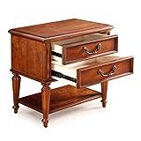 Nachttische Einfache Moderne Kleine wirtschaftliche Mini Schrankmöbel (Color : Brown, Size : 62 * 42 * 62cm)