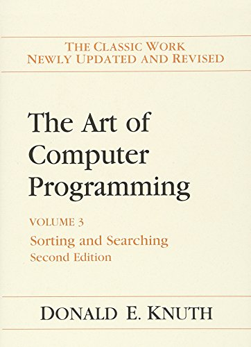 The Art of Computer Programming: Volume 3: Sorting and Searching Sam Computer