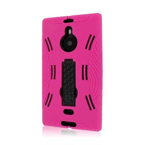 MPERO IMPACT XL Series Kickstand Case Tasche Hülle for Nokia Lumia 1520 - Hot Pink Rosa