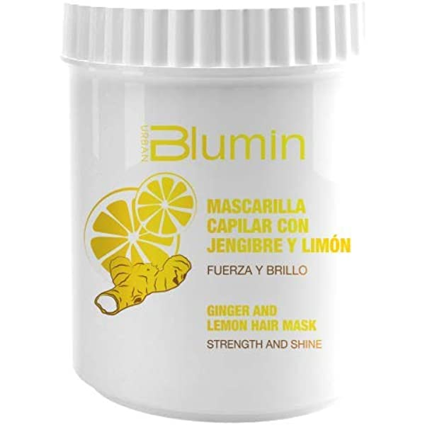 Blumin - Mascarilla Capilar Jengibre y Limón 700 ml: Amazon ...