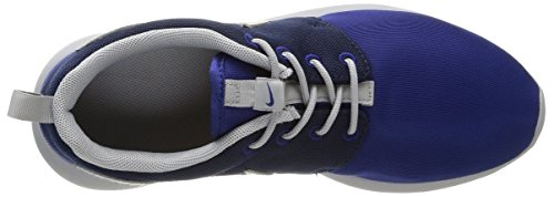 Nike Roshe One (Gs) Scarpe da Ginnastica, Unisex - Bambino Multicolore (Dp Royal Blue/Wlf Gry-Mid Nvy)