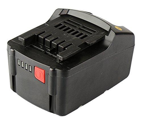 Preisvergleich Produktbild Mitsuru® 3000mAh Li-Ion 18V Akku Batterie für Metabo ASE18 BF18 BHA18 BS18 KNS18 KSA18 RB18 S18 SSD18 SSW18 STA18 W18