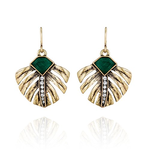 laresdomi-vintage-gold-tone-crystal-incrusted-simulated-emerald-retro-palm-leaves-elegant-drop-earri