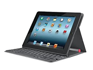 Logitech Solar Keyboard Folio Case for iPad 2 and iPad 3