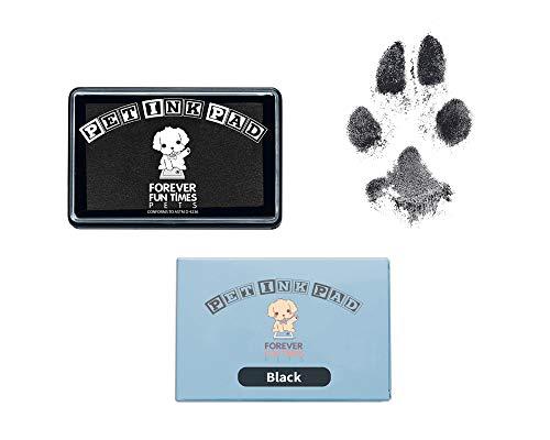 Forever Fun Times Einfach zu reinigender Haustier-Pfoten-Drucksatz | Erhalten Sie Hunderte von Ausdrucken von einem preiswerten Tintenpfoten-Drucksatz