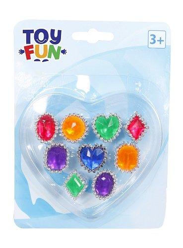 Toy Fun Fingerringe 9 verschiedene