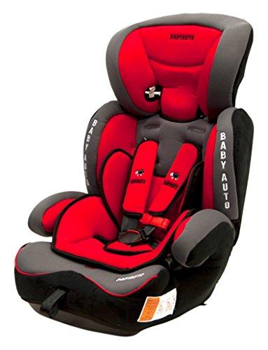 Babyauto Konar - Silla de seguridad infantil, grupo 1/2/3, color rojo