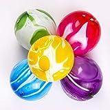 MIPEU | Set 50 Palloncini Colorati Assortiti | Happy Birthday Party | Decorazioni Addobbi Gadget | Accessori Intrattenimento Bambini | Buon Compleanno | Inviti Regalini Fine Festa | Colori Misti