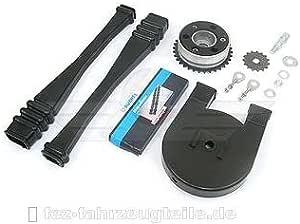 Satz Antriebsteile S51 14 Teile Kette Kettenschutz Kettenschlauch Mitnehmer Ritzel Usw Auto