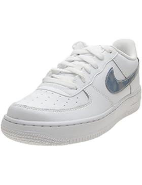 Nike Air Force 1 (GS), Zapatillas de Gimnasia para Niñas