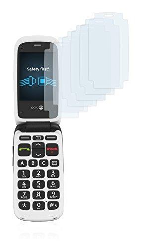 Savvies Schutzfolie für Doro PhoneEasy 612 [6er Pack] - klarer Displayschutz