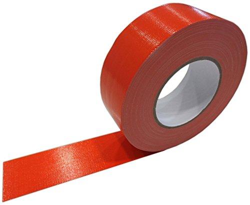 Klebeband Orange 50mm x 50m Gaffa Tape Gewebeklebeband Premium