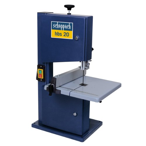 The Scheppach 8'' Hobby band saw is a superb very affordable machine ideal for fast accurate cutting of different types of wood both softwood and hardwood. Ideal for DIY (Do It Yourself) and hobby users but we would not recommend it for professionals. It is supplied with a quick lock fence clamp for fast and rigid fence locking to ensure accurate straight cuts every time.