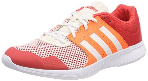 adidas Damen Essential Fun II Gymnastikschuhe, Orange (Arancione Real Coral S18/Ftwr White/Hi-RES Orange S18 Real Coral S18/Ftwr White/Hi-RES Orange S18), 40 EU
