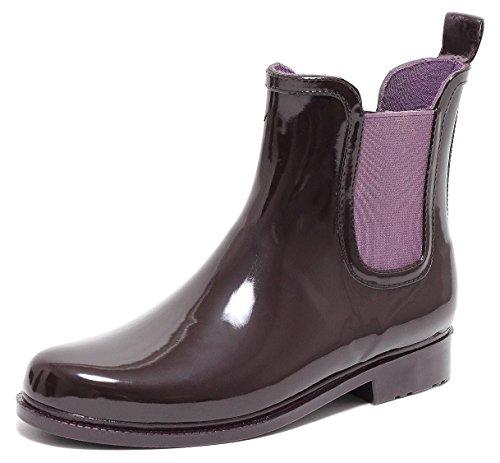 CHELSEA Rain Boot Regenstiefelette Gummistiefelette Regenstiefel Gummistiefel Reitstiefelette Stiefel BEERE Gr. 37–40