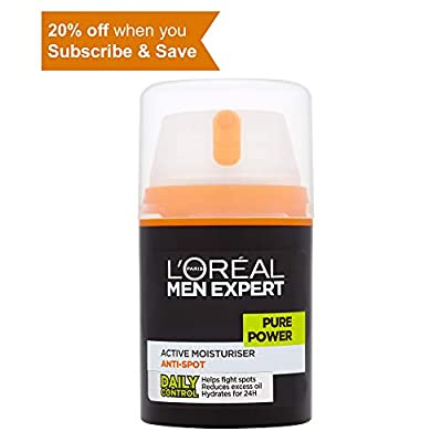 L'Oreal Men Expert Pure Power Anti-Spot Moisturiser 50ml