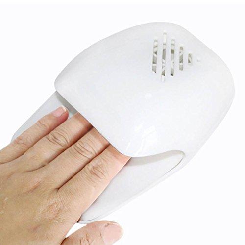 GZD Mini Nagel Trockner Finger Toe Polnisch Fast Air-Trocken Werkzeug Profession Gebläse Trockner Fan Nail Art Maschine Trocknen für Gel Polnisch