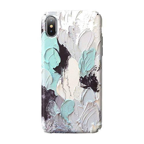 weilinchn 3D Leuchtende Handyhülle für iPhone 7 8 Plus XS Max Hard PC Case Cover für iPhone XR X 6 6S Plus Handyhüllen Fundas