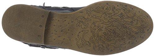 PMS Calvados Summer Ankle Boot, Bottes femme Bleu - Blau (Dk Navy 011/Dk Navy 011)