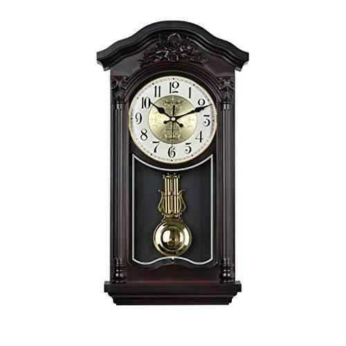 WALL CLOCK 1 Orologio da Parete Antico Soggiorno Orologio, Orologio a Pendolo Quarzo Creativo Moda Casa, Materiale PVC (Dimensioni: 27 * 51 cm)