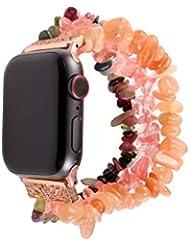 Maayun Para Apple Watch 4 3 2 1Watch Band Beads Bracelet Jewelry Strap Strap 38 40 42 44 MM (38-40-E) (38-40-C)