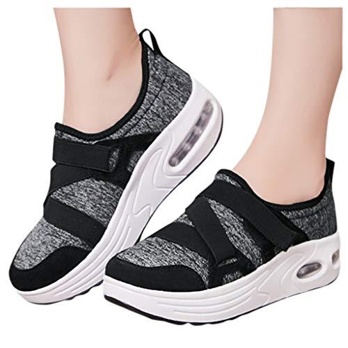 Berimaterry Zapatillas de Mujer Zapatos de Corriendo Calzado Casual y Deportivo Moda De Aumento De Fondo...
