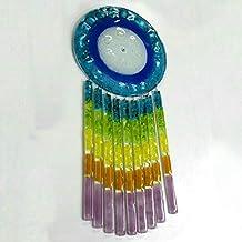 KUM CIEL- Atrapasueños de vidrio arco iris